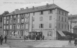 CP 54 Meurthe Et Moselle Longwy-Bas Hôtel Du Commerce Station Du Tramway - Longwy