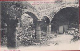 Gent Gand Ruines De L' Abbaye De St-Bavon Sint-Baafsabdij Edit. Sugg Série 1 N° 128 (In Zeer Goede Staat) - Gent
