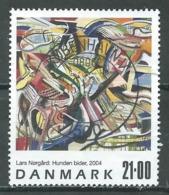 Danemark YT N°1385 Attention Au Chien De Lars Norgard Oblitéré ° - Danemark