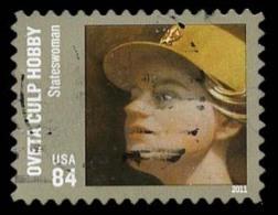 Etats-Unis / United States (Scott No.4510 - Olivetta Culp Hobby) (o) TB / VF - Used Stamps
