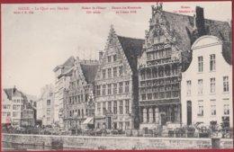 Gent Gand Quai Aux Herbes Graslei Edit. Albert Sugg Serie 1 Nr. 124 (In Zeer Goede Staat) - Gent