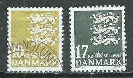 Danemark YT N°1424/1425 Armoiries Oblitéré ° - Denmark