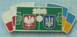 UKRAINE / Metal Magnet / POLAND.  Football Europe Championship UEFA EURO 2012 - Sports