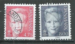 Danemark YT N°1420/1421 Reine Margrethe II Oblitéré ° - Danemark
