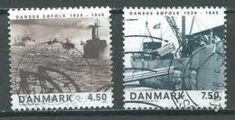 Danemark YT N°1406/1407 Fin De La Seconde Guerre Mondiale Oblitéré ° - Danemark