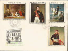 V) 1969 CARIBBEAN, PAINTINGS IN THE NAPOLEON MUSEUM, NAPOLEON IN MILAN BY ANDREA APPIANI, NAPOLEON AS FIRST CONSUL BY J. - Covers & Documents