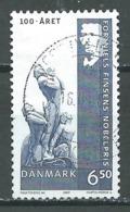 Danemark YT N°1357 Premier Prix Nobel Danois Oblitéré ° - Denmark