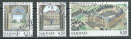 Danemark YT N°1374/1376 Chateau De Frederiksberg Oblitéré ° - Danemark