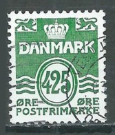 Danemark YT N°1365 Lignes Ondulées Oblitéré ° - Danemark