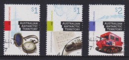 Australian Antarctic 2017 Cultural Heritage Set Of 3 CTO - Territoire Antarctique Australien (AAT)