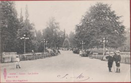 Gent Gand 1901 Casino Les Jardins De Tuinen Taxzegel Edit. Albert Sugg Serie 1 Nr 193 (Kreukje) - Gent