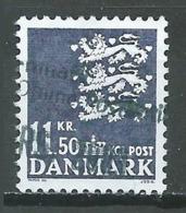 Danemark YT N°1330 Armoiries Oblitéré ° - Danemark