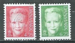 Danemark YT N°1331-1332 Reine Margrethe II Oblitéré ° - Danemark