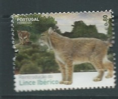 PORTUGAL 2015 REINTRODUCING THE IBERIAN LYNX INTO PORTUGAL USED - 1910-... République