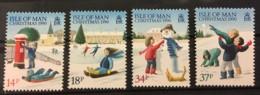 ISLE OF MAN - MNH** - 1990 - # 436/439 - Isle Of Man