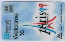 INTERCALL  - Welcome To Paris 99 Experience - Tirage : 350 Ex - Code Non Gratté - Voir Scans - Autres Prépayées