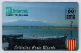 INTERCALL  - Collection Carte Blanche - Pays Catalan - Tirage : 300 Ex - Code Gratté - Voir Scans - Autres Prépayées
