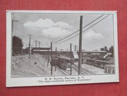 R.R. Station  Harrison   - New York  Ref 3635 - Autres