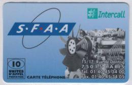 INTERCALL  - SFAA - Tirage : 1.000 Ex - Code Non Gratté - Voir Scans - Autres Prépayées
