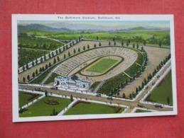 Football Baltimore Stadium    Baltimore  Md  Ref 3635 - Postcards