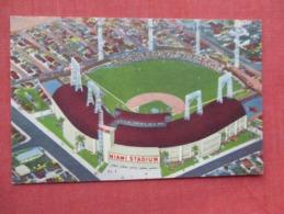 Baseball  Stadium     Miami Florida   Ref 3635 - Baseball