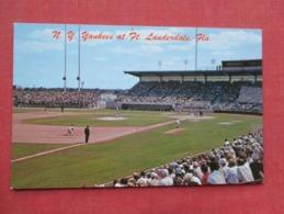 Baseball  Stadium  N Y Yankees  At Ft. Lauderdale Florida      Ref 3635 - Baseball