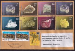 Argentina - 2019 - Mineraux - Malaquita - Amatista - Agata - Fluorita - Soufre - Quartz - Pyrite - Rodocrosita - Minéraux