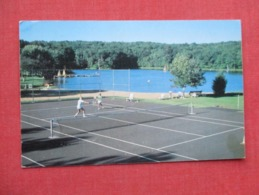 Tennis At Brookdale Scotrun Pa.        Ref 3635 - Tennis