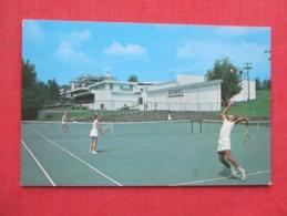 Tennis At Charles & Lillian Brown's Hotel Loch Sheldrake       Ref 3635 - Tennis