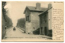 Saint Nom La Bretèche Porte De La Bretèche Foret De Marly - St. Nom La Breteche