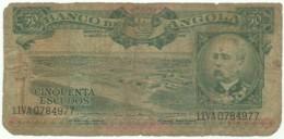 Angola - 50 Escudos - 15.08.1956 - Pick 88 - Série 11 VA - Henrique De Carvalho - PORTUGAL - Angola