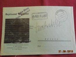 Lettre De 1945 De Wunsiedel Pour Wolsau - Bizone