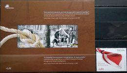 Portugal Azores, 2007, Mi. 531, 532-33 (bl. 33), Sc. 501-02, SG 624-25, Europa, Centenary Of Scouting, MNH - 2007