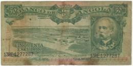 Angola - 50 Escudos - 15.08.1956 - Pick 88 - Série 13 RE - Henrique De Carvalho - PORTUGAL - Angola