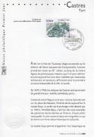 """"""" CASTRES """" Sur Notice Officielle 1er Jour De 2007  N° YT 4079. Parfait état. - Documents Of Postal Services"""