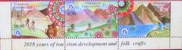 Tajikistan  2018  Years Of Tourism Development And Folk Crafts  Mountains  3v  MNH - Tajikistan