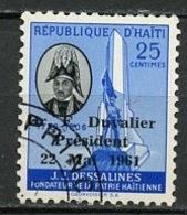 Haïti 1961 Y&T N°468 - Michel N°(?) (o) - 25c F Duvalier - Haïti