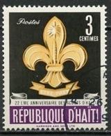 Haïti 1962 Y&T N°483 - Michel N°710 (o) - 3c Scouts - Haïti
