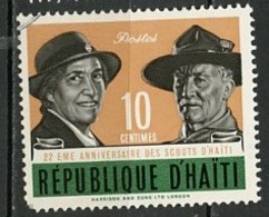 Haïti 1962 Y&T N°485 - Michel N°712 (o) - 10c Scouts - Haïti