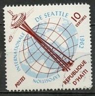 Haïti 1962 Y&T N°493 - Michel N°728 (o) - 10c Exposition De Seattle - Haïti