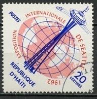 Haïti 1962 Y&T N°494 - Michel N°729 (o) - 20c Exposition De Seattle - Haïti