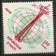 Haïti 1962 Y&T N°496 - Michel N°731 (o) - 1g Exposition De Seattle - Haïti