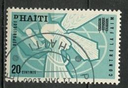 Haïti 1963 Y&T N°504 - Michel N°748 (o) - 20c Campagne Contre La Faim - Haïti