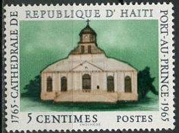 Haïti 1965 Y&T N°537 - Michel N°840 (o) - 5c Cathédrale De Port Au Prince - Haïti