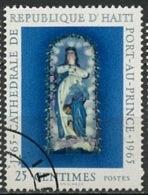 Haïti 1965 Y&T N°539 - Michel N°842 (o) - 25c Cathédrale De Port Au Prince - Haiti
