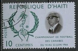 Haïti 1966 Y&T N°557 - Michel N°(?) (o) - 10c Football Des Caraïbes - Haïti