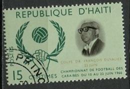 Haïti 1966 Y&T N°562 - Michel N°876 (o) - 15c Football Des Caraïbes - Haïti