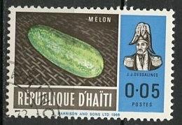 Haïti 1967 Y&T N°570 - Michel N°(?) (o) - 5c Melon - Haïti