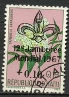 Haïti 1967 Y&T N°581 - Michel N°(?) (o) - 10cs15c Fleur - Haïti