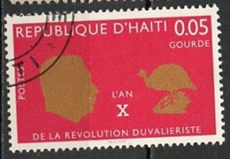 Haïti 1967 Y&T N°584 - Michel N°(?) (o) - 5c Révolution Duvaliériste - Haiti